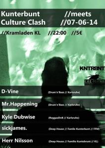 Kunterbunt meets Culture Clash!
